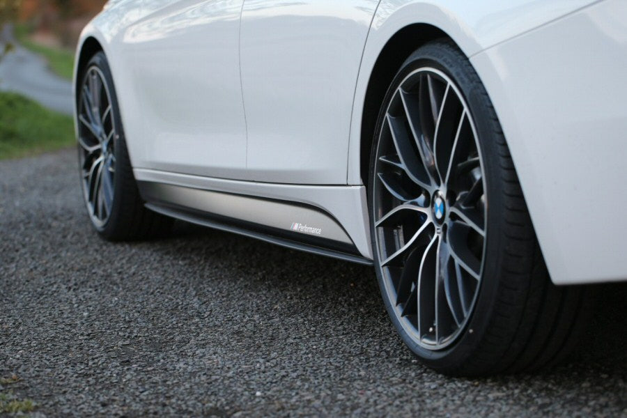 BMW F22 2 Series Performance Carbon Fiber Side Skirt Extensions