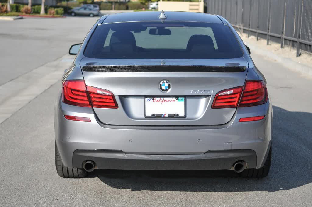 BMW F10 M5 | 5 Series 1PD Carbon Fiber Trunk Spoiler