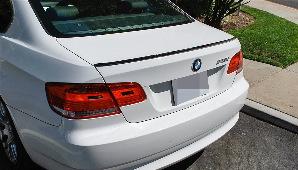 BMW E92 M3 | E92 3 Series V1 Carbon Fiber Trunk Spoiler