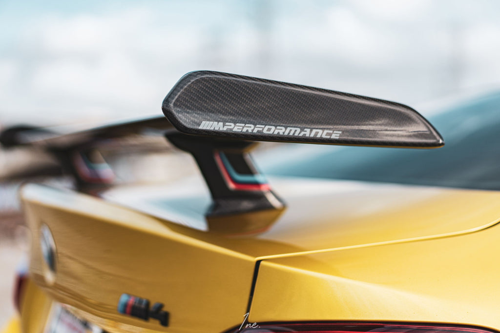 BMW F8X M3 and M4 Performance Carbon Fiber Trunk Wing