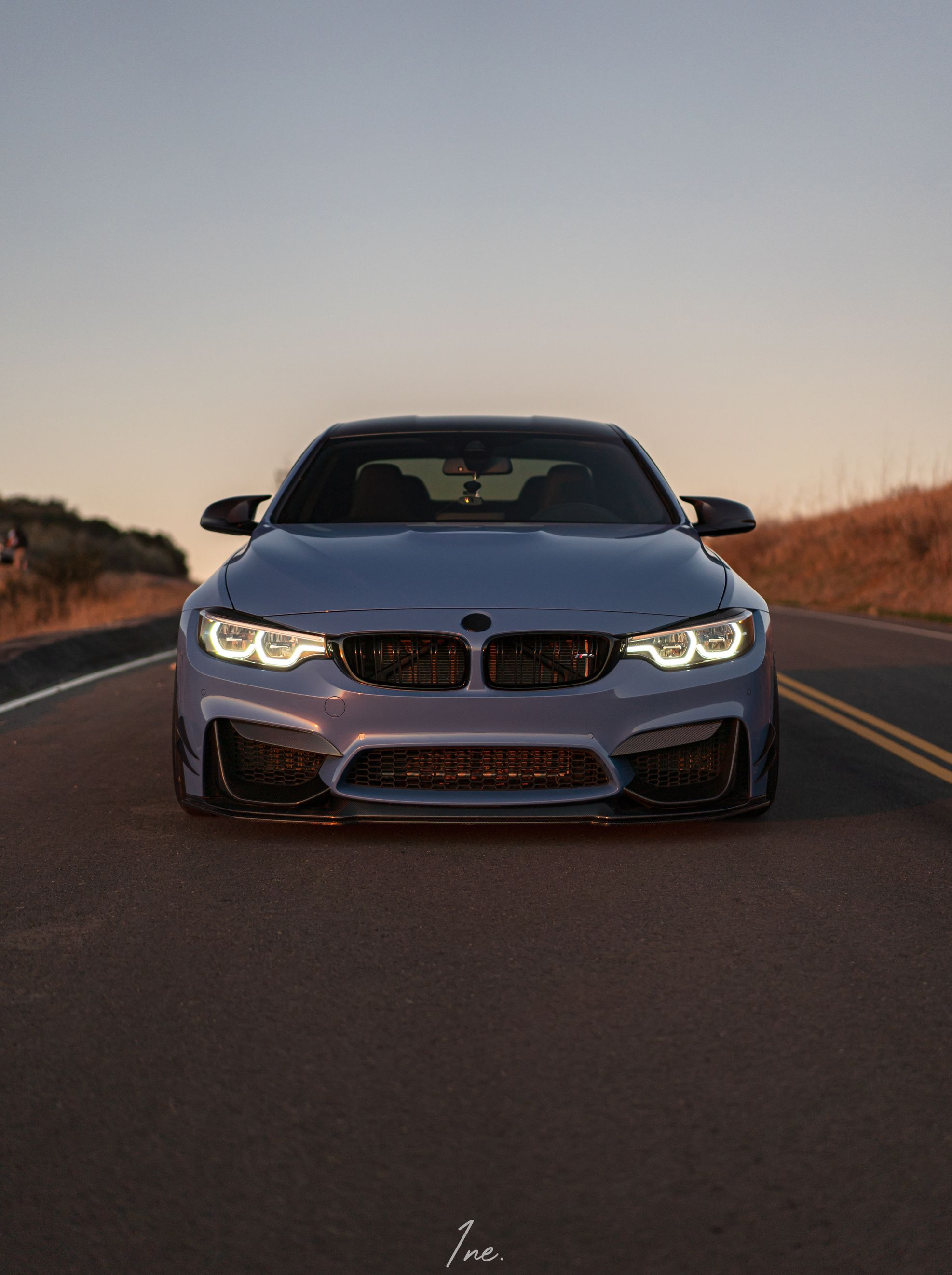 BMW F8X M3 and M4 CS Style Carbon Fiber Lower Splitter