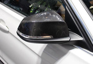 BMW F10 5 Series Carbon Fiber Mirror Cap Set