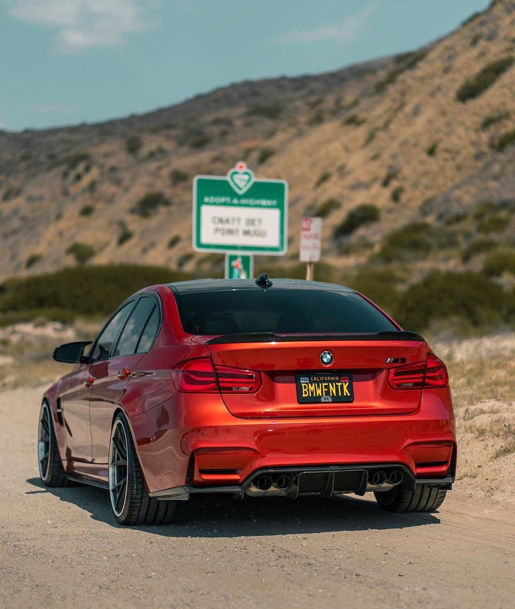 BMW F80 M3 | F30 3 Series CS Style Carbon Fiber Trunk Spoiler