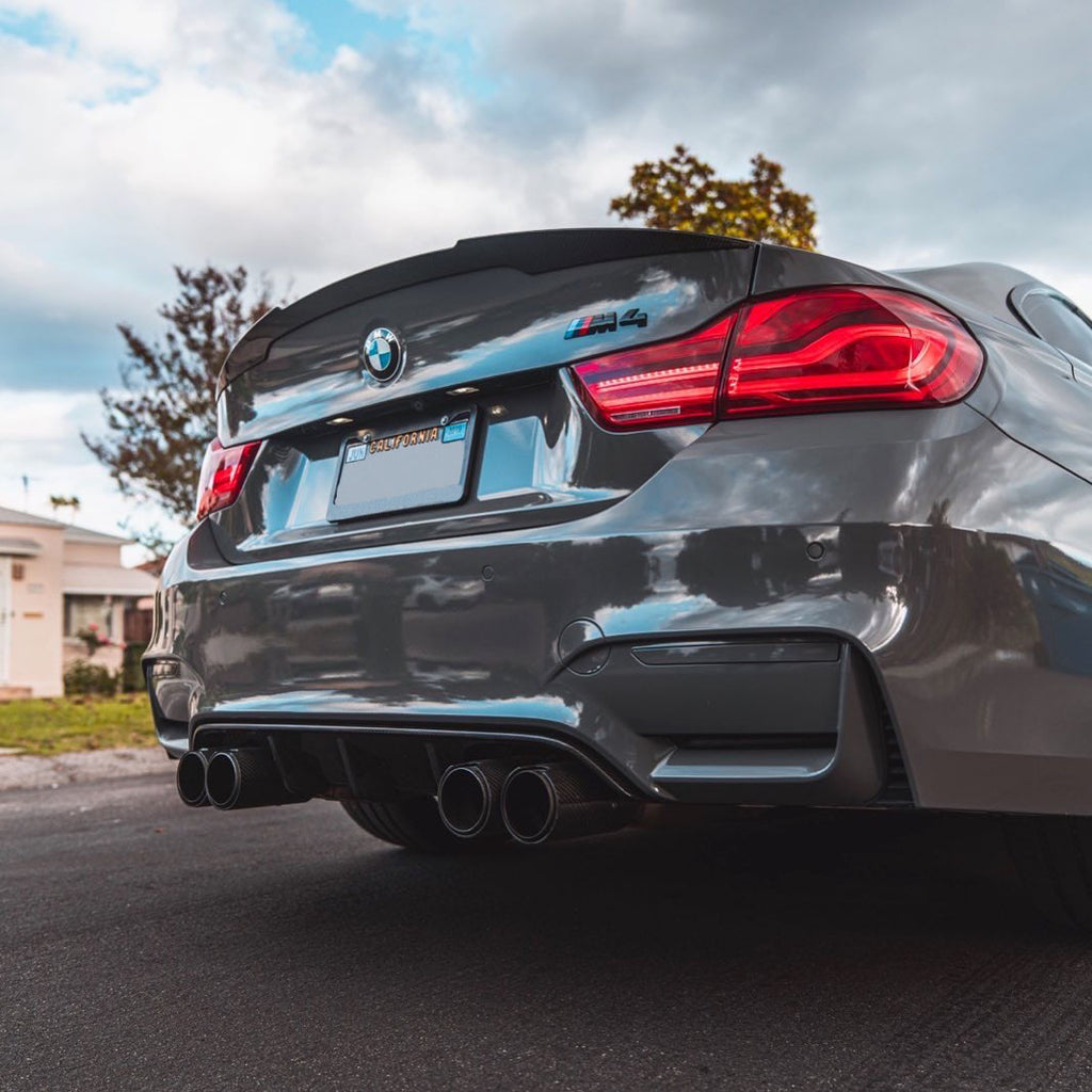 BMW F82 M4 | F32 4 Series Performance Carbon Fiber Trunk Spoiler