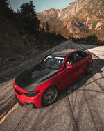 BMW F8X M3 and M4 CS/GTS Style Carbon Fiber Hood (Carbon Fiber Vent Included)