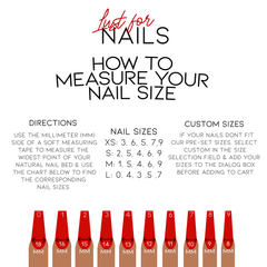 Measure Your Nail Size At Home!