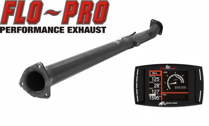 Bully Dog Race Pipe Performance Package | 2015-2016 Ford 6.7 Powerstroke