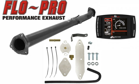 Bully Dog Race Pipe Performance Package | 2011-2014 Ford 6.7 Powerstroke