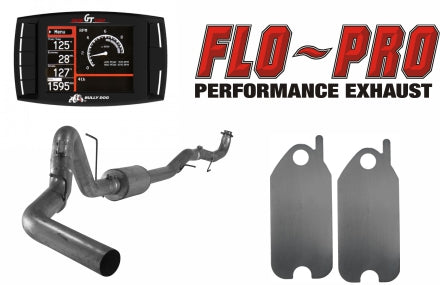 Bully Dog Full Race Exhaust Performance Package | 2015.5-2016 GM 6.6L DURAMAX