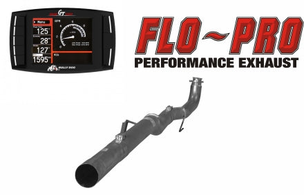 Bully Dog Race Pipe Performance Package | 2011-2015 GM 6.6L DURAMAX