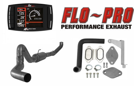 Bully Dog Full Race Exhaust Performance Package | 2007.5-2009 RAM 6.7L Cummins