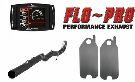 Bully Dog Race Pipe Performance Package | 2008-2010 GM 6.6L DURAMAX