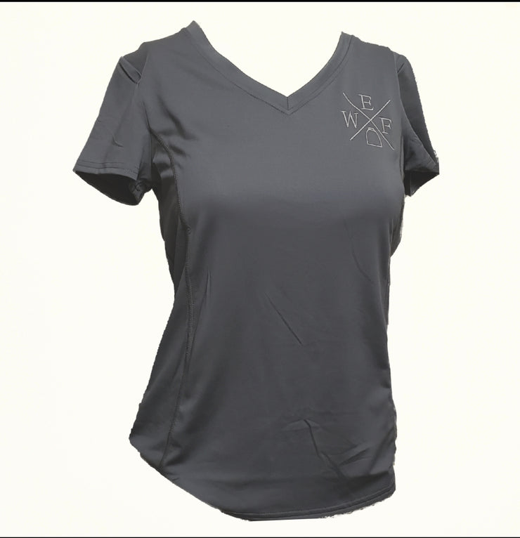 Ladies WEF V-Neck Tech T