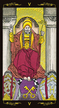 Load image into Gallery viewer, Golden Universal Tarot - GOLD