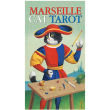Load image into Gallery viewer, Marseille Cat Tarot