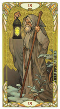 Load image into Gallery viewer, Golden Art Nouveau Tarot - GOLD