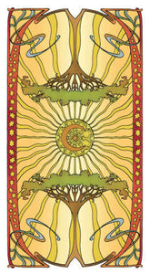 Golden Art Nouveau Tarot - GOLD
