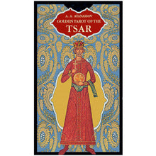 Load image into Gallery viewer, Golden Tarot of the Tsar - GOLD