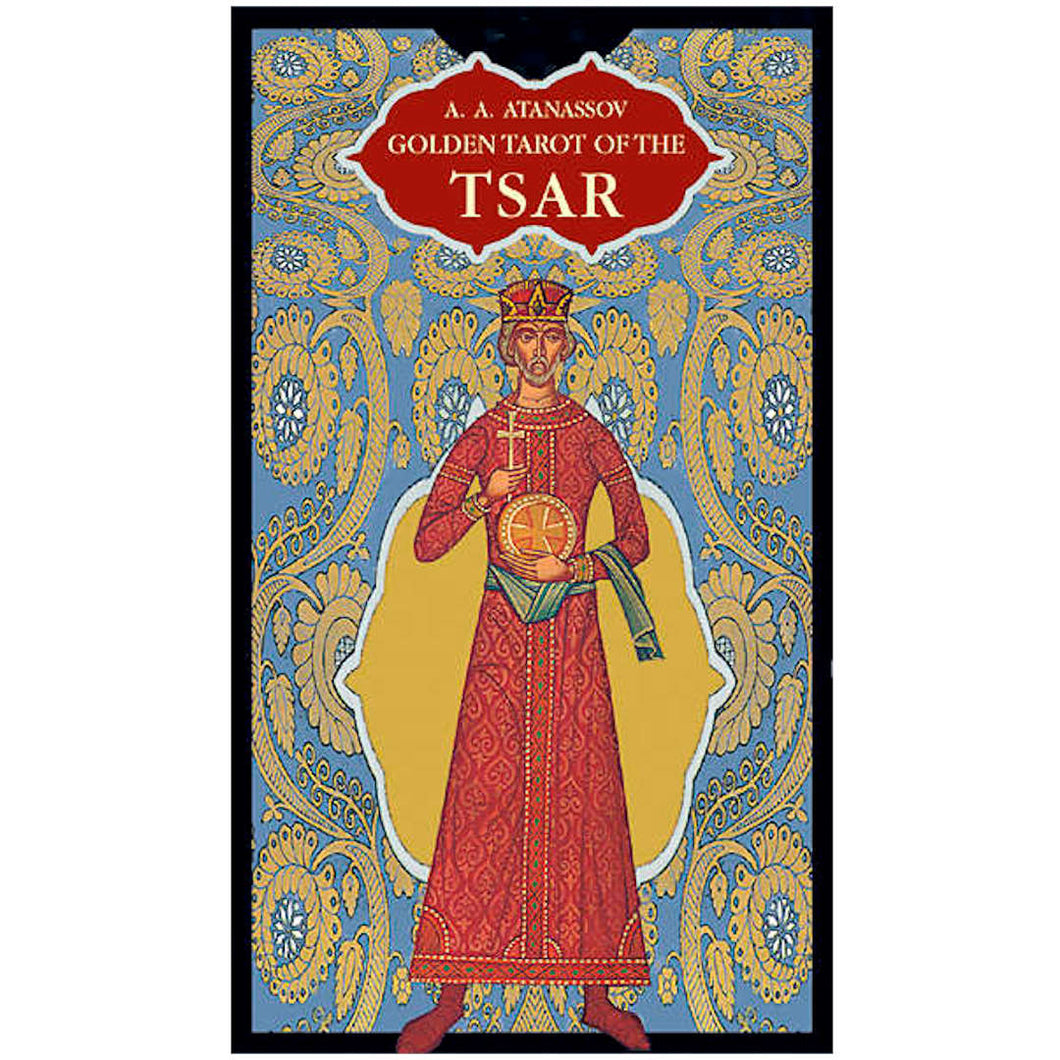 Golden Tarot of the Tsar - GOLD