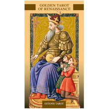 Load image into Gallery viewer, Golden Tarot of the Renaissance - Estensi - GOLD
