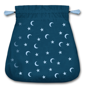 Moon and Stars Tarot Bag
