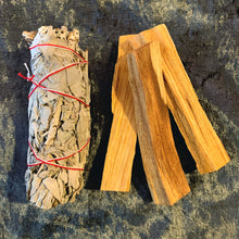 Load image into Gallery viewer, White Sage & Palo Santo Gift Set