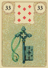 Load image into Gallery viewer, Golden Lenormand Oracle - GOLD