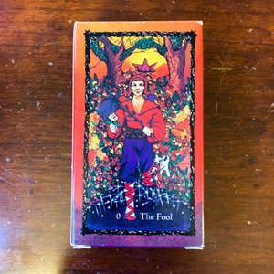 The Sacred Rose Tarot Deck - First Edition