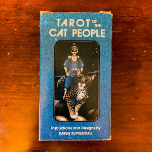 Tarot of the Cat People - First Edition