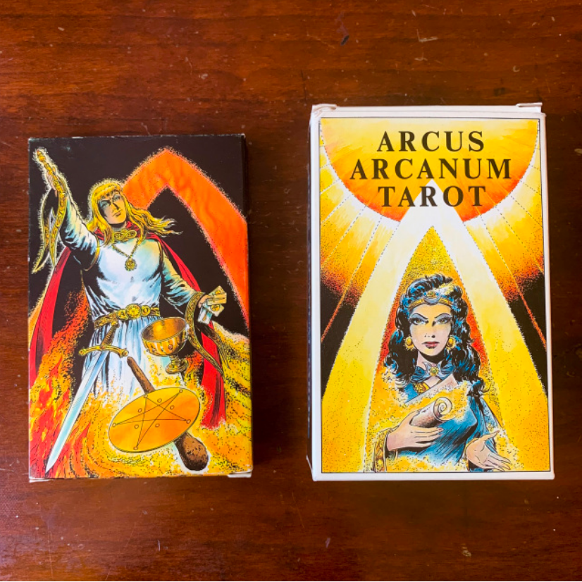 Arcus Arcanum Tarot - Very rare set of two tarot decks