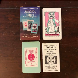 ZOLARS Astrological Tarot Fortune-Telling Cards