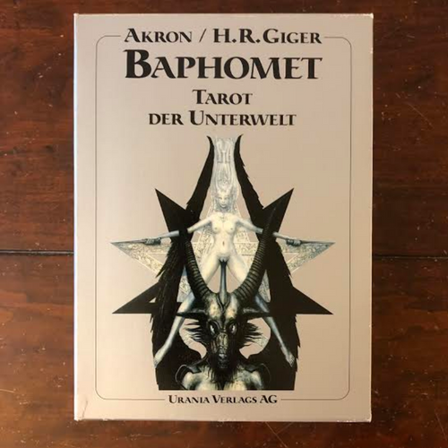 H.R. Giger Tarot - Original German Edition - Das Deutsche Original
