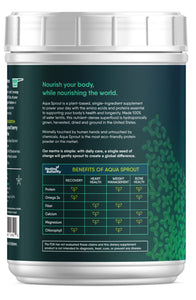 Aqua Sprout Plant Protein Powder