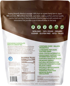 Chocolate Matcha Green Tea Powder – 25-serving Pouch