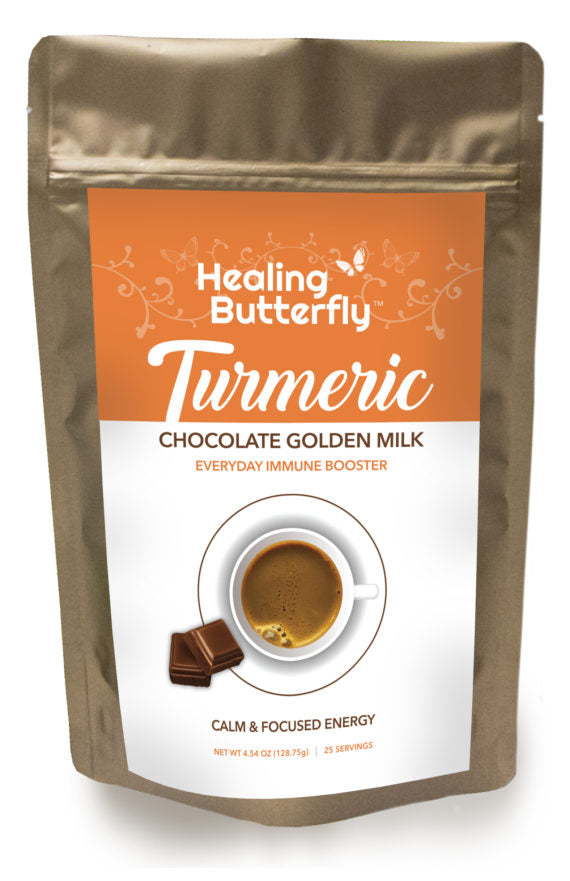 Chocolate Turmeric Golden Milk – 25-serving Pouch