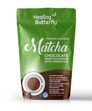 Load image into Gallery viewer, Chocolate Matcha Green Tea Powder – 25-serving Pouch