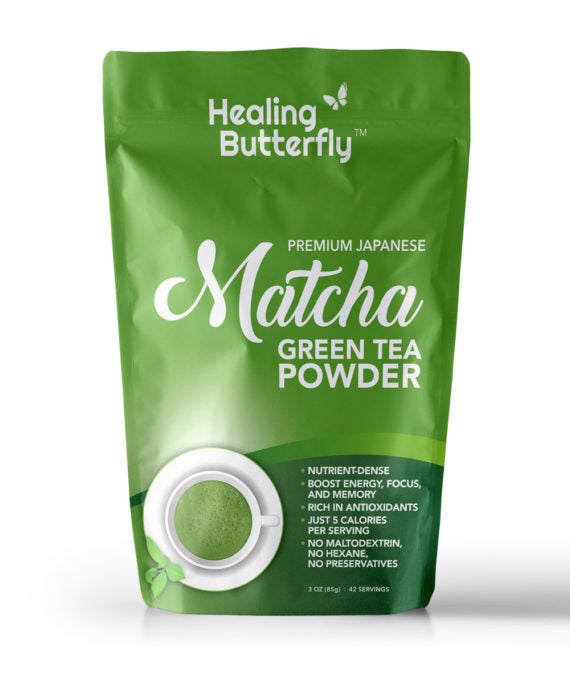 Buy Japanese Matcha Green Tea Powder – 42-serving Pouch ** FREE SHIPPING **