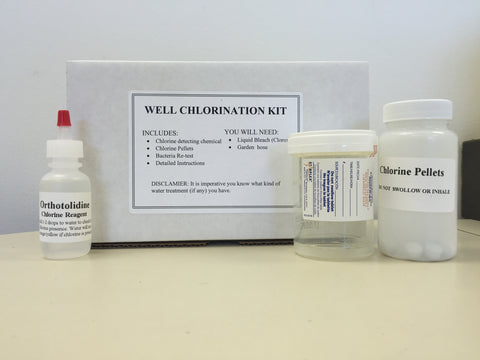 Well Chlorination Kit