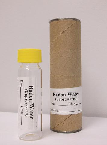 Radon Water -Bottle Order