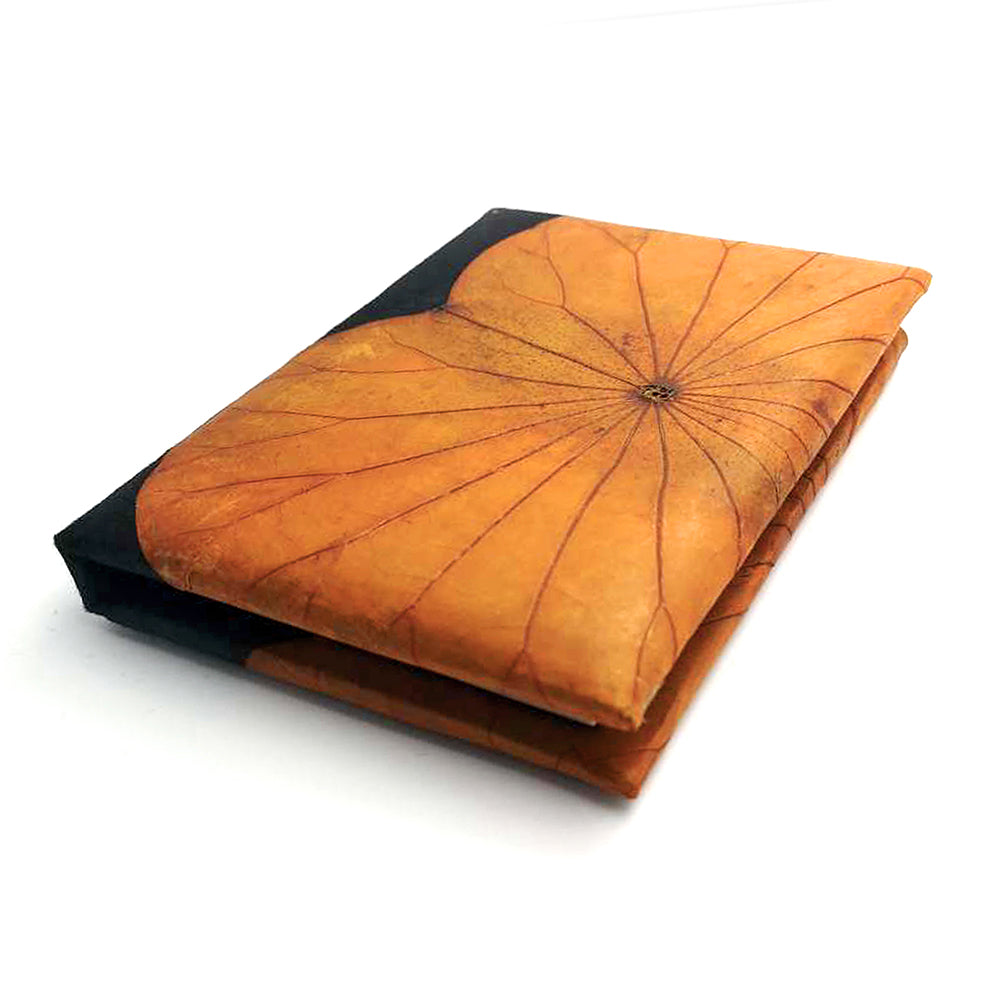 A6 Lotus Notebook - Orange