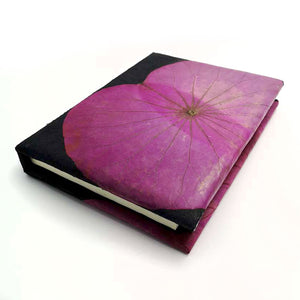 A6 Lotus Notebook - Pink
