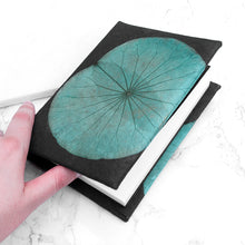 Load image into Gallery viewer, A6 Lotus Notebook - Teal