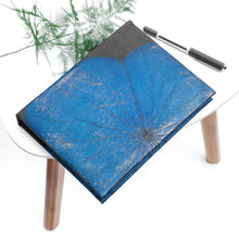 Load image into Gallery viewer, A5 Lotus Notebook - Blue