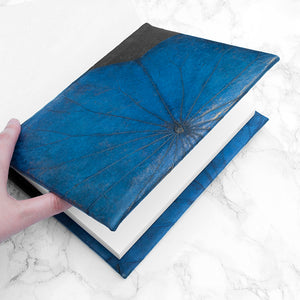 A5 Lotus Notebook - Blue