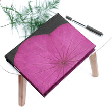 Load image into Gallery viewer, A5 Lotus Notebook - Pink