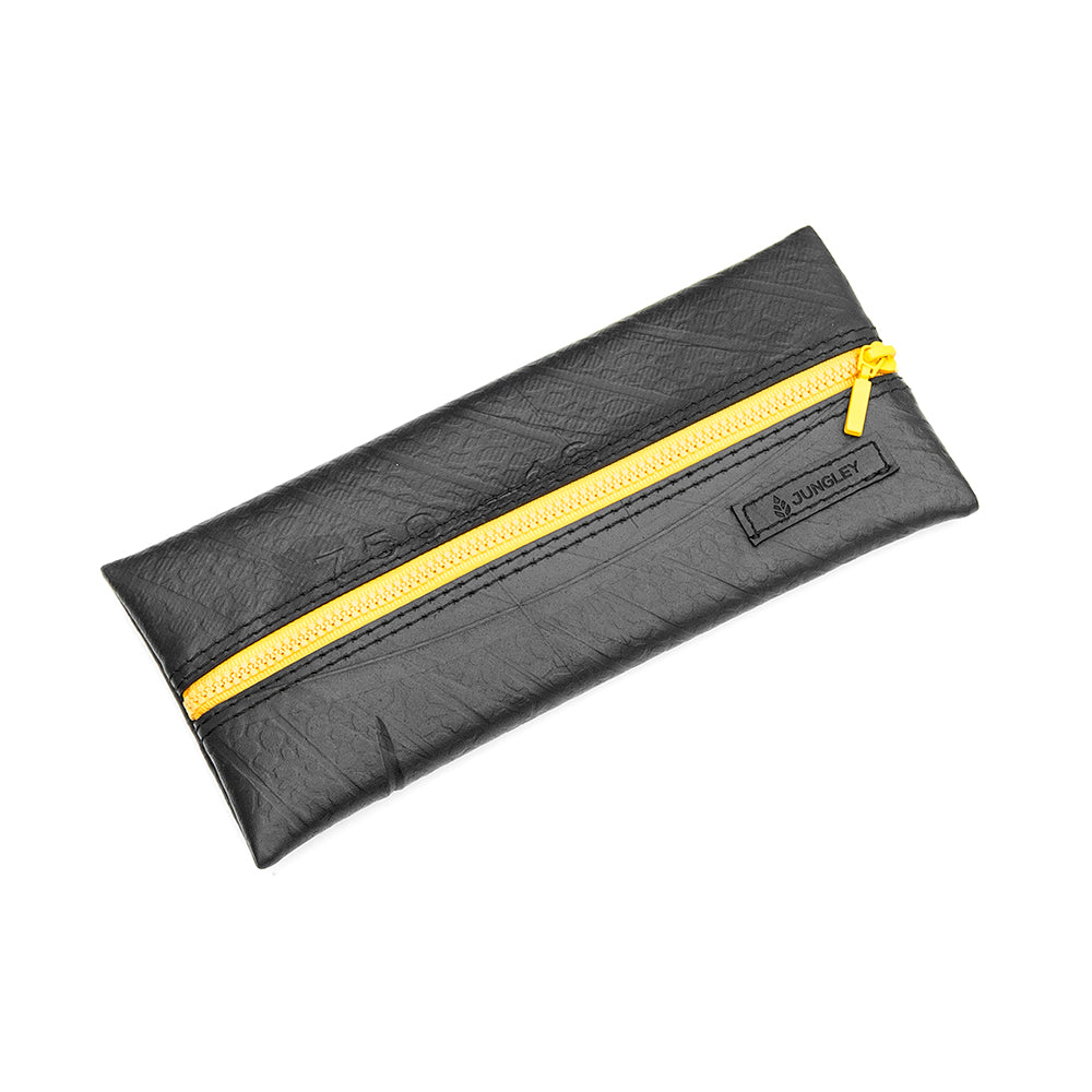 I Used To Be A Truck Tyre Rubber Pencil Case - Yellow