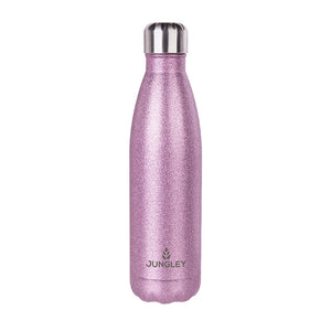 Jungley Glitter Insulated Water Bottle