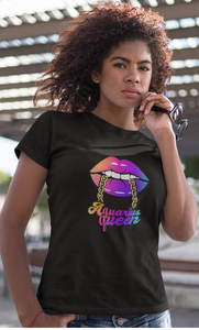Aquarius Queen T-Shirt - HELLUVAMUVA