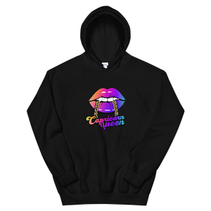 Colorful Cap Queen Hoodie - HELLUVAMUVA