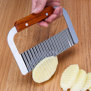 Stainless Steel Potato Knife Wave